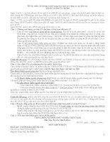 Đề thi môn: kỹ năng tranh tụng của luật sư trong vụ án dân sự. Mã số: LS.DS/TN-30/240 P2