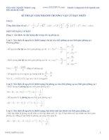 Cách giải nhanh vật lí 12 Fx570es và vật lý hạt nhân