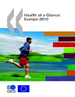 Health At A Glance - Europe 2010 pdf