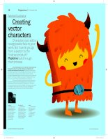 Creating vector characters in Illustrator