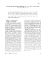 Disruptive Technologies: Opportunities for Organic Chemicals in Information Technology docx