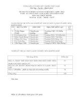 đề thi thực hành tốt nghiệp khóa 3-kỹ thuật máy lạnh và điều hòa không khí - mã đề thi ktml - đhkk - th (7)