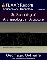 3d Scanning of Archaeological Sculpture pptx