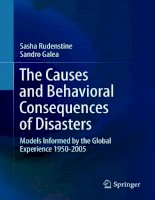 The Causes and Behavioral Consequences of Disasters pot
