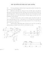 Bài tập môn sức bền vật liệu(Xoắn) doc