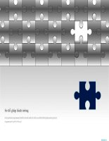 sơ đồ powerpoint ghép hình tường, crossword puzzle diagram