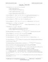 luyện thi ĐH với đầy đủ các dạng bài tập theo chủ đề