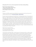 Bình giảng bốn câu thơ sau đây trong bài thơ Tây Tiến của Quang Dũng pot
