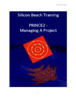 Silicon Beach training PRINCE2 - Managing a Project