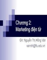 bài giảng thương mại điện tử chương 2 - gv.nguyễn thị hồng vân