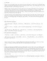 Bài tập về phép viết đoạn - văn mẫu
