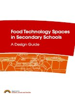 Food Technology Spaces in Secondary Schools pdf