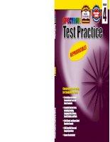 Spectrum Test Practice, Grade 4 pot