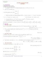 Chuyên đề Số Phức và Đại số tổ hợp