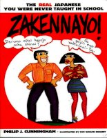 zakennayo! the real japanese you were never taught in school