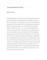 Về mỹ thuật đương đại Việt Nam pdf