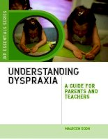 Understanding Dyspraxia A Guide for Parents and Teachers Second edition doc