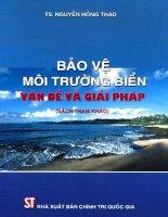 Bảo vệ môi trường biển vấn đề và giải pháp pdf