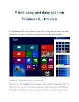 9 tính năng mới đáng giá trên Windows 8.1 Preview ppt