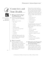Cosmetics and Your Health potx