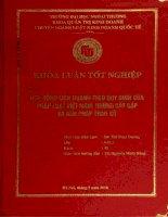 hợp đồng liên doanh theo quy định của pháp luật việt nam những bất cập và giải pháp tháo gỡ