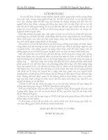 ĐỀ TÀI BÁO CÁO HỆ QUẢN TRỊ CƠ SỞ DỮ LIỆU ORACLE TRONG QUẢN LÝ BÁN HÀNG