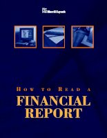 HOW TO READ A FINANCIAL REPORT docx