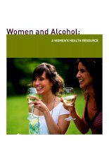 Women and Alcohol: A WOMEN'S HEALTH RESOURCE ppt