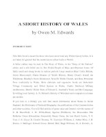 A SHORT HISTORY OF WALES pptx