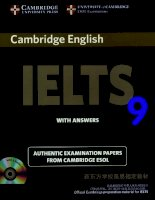 cambridge IELTS 9 full book