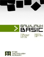 GNU/Linux Basic operating system ppt