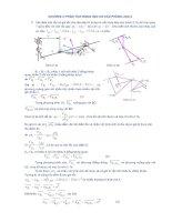 Giải bài tập nguyên lý máy - chương 2