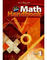 quick review math handbook, book 1