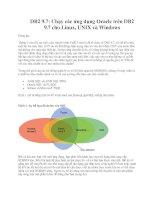 DB2 9.7: Chạy các ứng dụng Oracle trên DB2 9.7 cho Linux, UNIX và Windows ppt