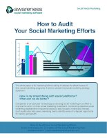 How to Audit Your Social Marketing Efforts potx
