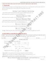 (Lời giải) 4  chuyên đề   kim loại tác dụng với dung dịch muối   copy