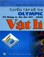 Tuyển tập đề thi olympic 30 tháng 4 lần thứ XIV - 2008 môn toán