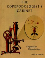 the copepodologist s cabinet a biographical and bibliographical history 1 potx