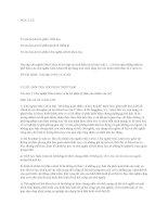 Các câu hỏi tự luận môn triết học mác lên nin (3 chương)