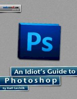 An Idiot's Guide to Photoshop Part 1