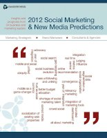 2012 Social Marketing & New Media Predictions ppt