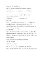 Đề Thi Thử Tuyển Sinh Lớp 10 Toán 2013 - Đề 36 pot
