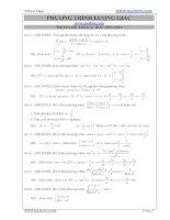 lượng giác trong đề thi đại học từ 2002 đến 2010