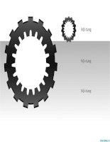 hình vẽ powerpoint bánh xe kết hợp, gear wheels