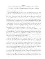 GIẢI PHÁP NÂNG CAO CHẤT LƯỢNG DỊCH VỤ PHÒNG TẠI KHÁCH SẠN SÔNG NHUỆ - HÀ NỘI