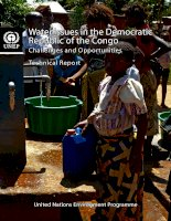 Water Issues in the Democratic Republic of the Congo: Challenges and Opportunities doc