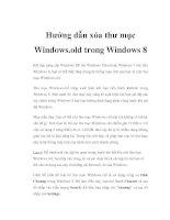 Hướng dẫn xóa thư mục Windows.old trong Windows 8 pdf