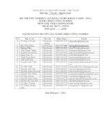 đề thi thực hành tốt nghiệp khóa 2 - điện công nghiệp - mã đề thi mã đề thi dcn - th (2)