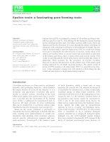 Báo cáo khoa học: Epsilon toxin: a fascinating pore-forming toxin potx