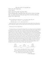 Báo cáo Bài tập lớn trí tuệ nhân tạo :Không gian trạng thái được mô tả là trò chơi cờ tướng. Hãy xây dựng chương trình giải quyết bài toán theo phương pháp cắt tỉa alpha-beta